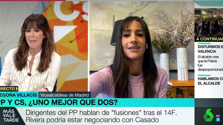 Tensa entrevista de Mamen Mendizábal a Begoña Villacís: ¿Cómo que no es verdad?