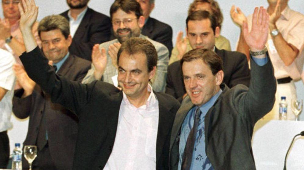 Foto: Zapatero, con el que fue secretario general del PSPV, Ignasi Pla.