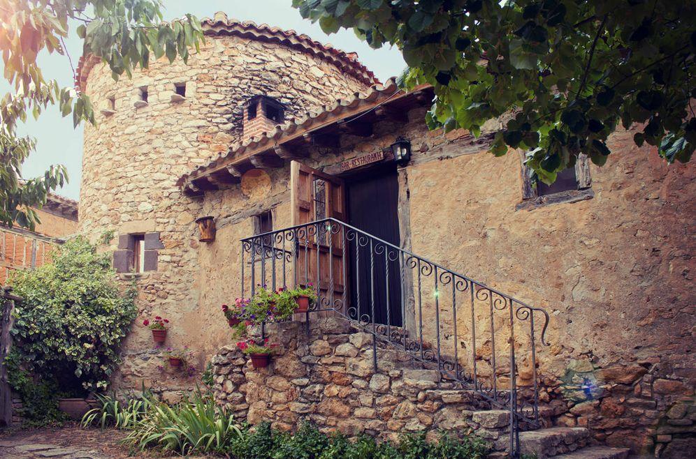 Foto: El viejo palomar de Calatañazor (1700) que ahora es un restaurante. (Foto: El Palomar)