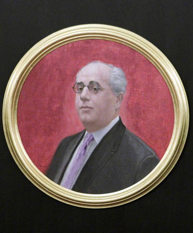 Foto: Retrato del que fuera presidente de la II República, Manuel Azaña. (EFE)