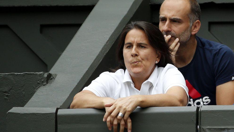 La federación de tenis prescinde de Conchita Martínez