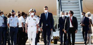 Post de Sánchez excluye a Casado de su plan para liderar la unidad europea ante la crisis afgana