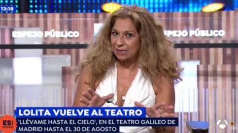 Lolita, sin pelos en la lengua: su reproche a Antena 3 desde 'Espejo público'