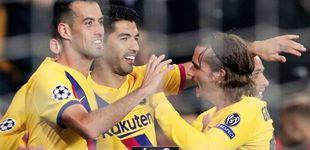Post de El gafe de Suárez y el caos del Barcelona en Europa (Ter Stegen sigue de socorrista)