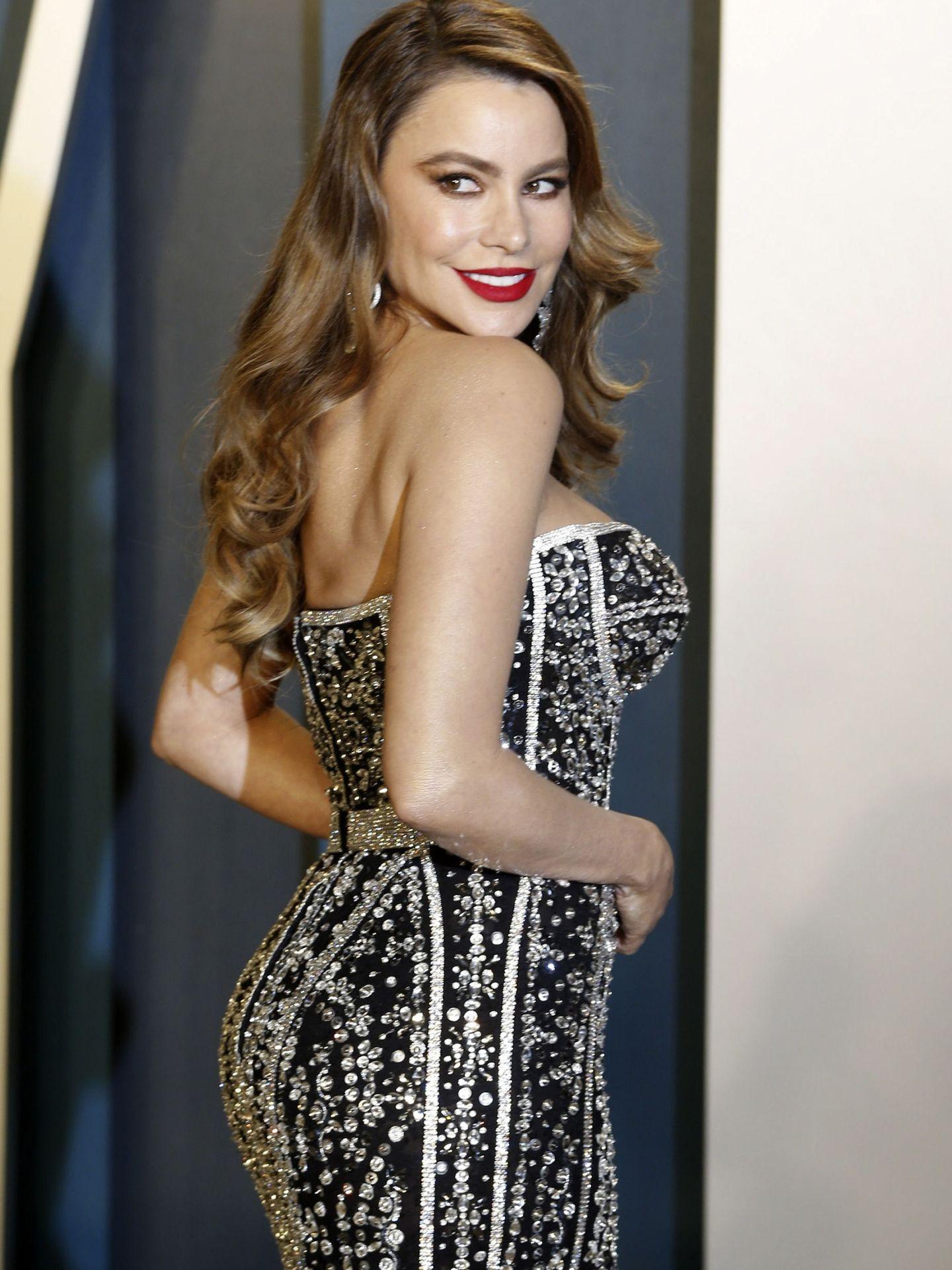 Sofia Vergara en la fiesta post-Oscar de 'Vanity Fair' de 2020. (EFE)