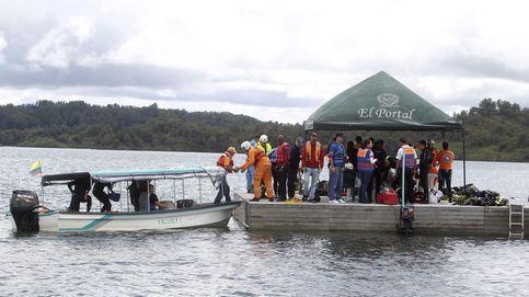 Sigue la búsqueda en el naufragio de Colombia