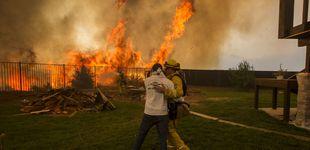 Post de Una veintena de incendios convierten California en un infierno
