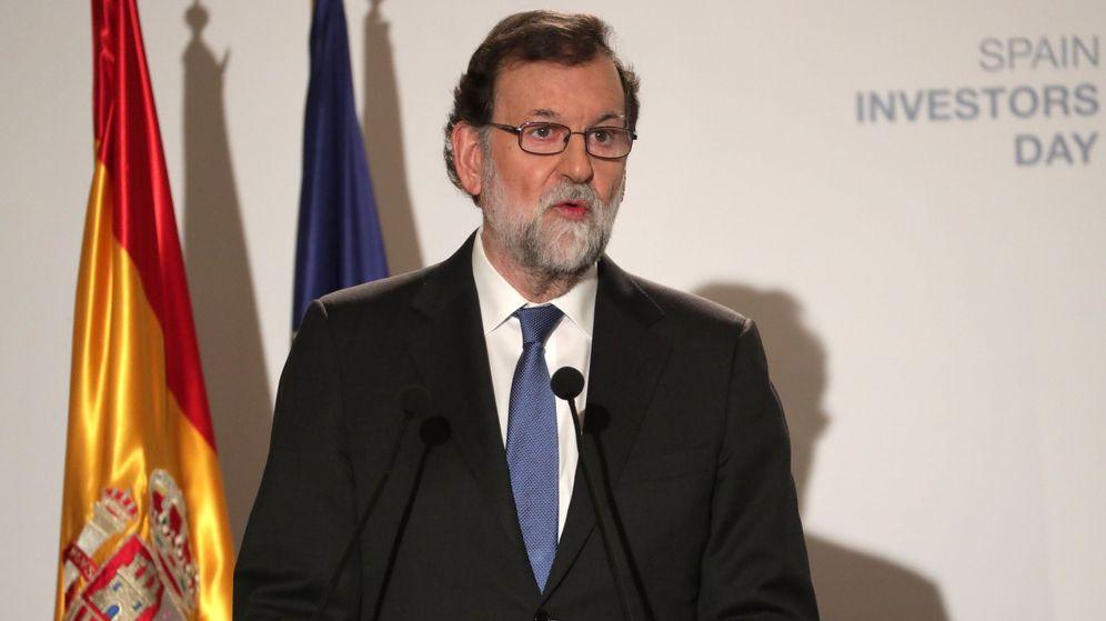 Foto: Mariano Rajoy,durante su intervención hoy en la inauguración de la VIII edición del Spain Investors Day