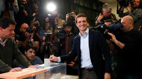 Pablo Casado acude a votar y expresa su deseo de que gane un gobierno estable estas elecciones generales