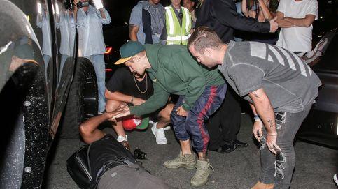 Las imágenes del atropello de Justin Bieber a un fotógrafo