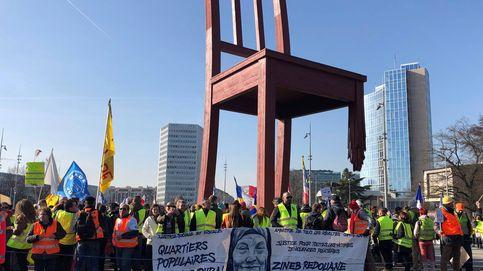 Protesta de chalecos amarillos en Ginebra