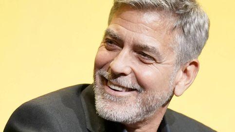 George Clooney, su corte de pelo y otros famosos que no necesitan peluquero