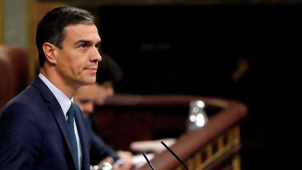 Foto: Pedro Sánchez el día que afrontó la segunda y definitiva votación de investidura, fallida. (EFE)