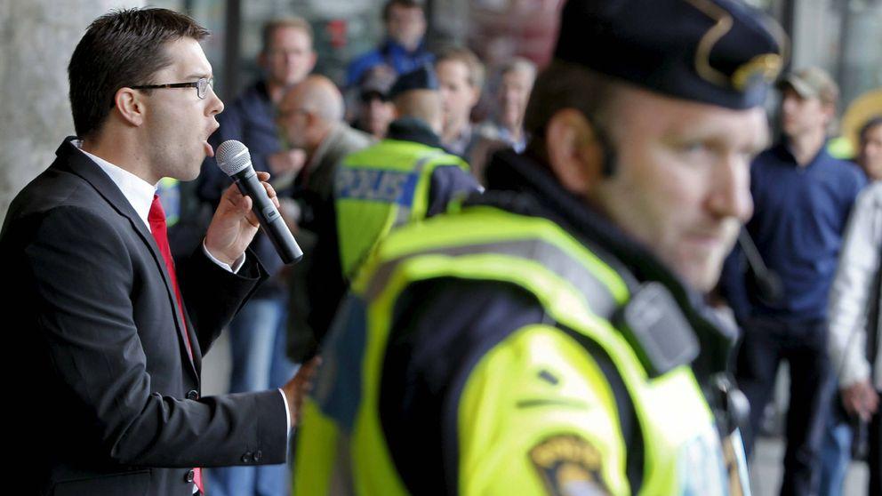 La ultraderecha que quiere sacar a Suecia de la UE amenaza con ser segunda fuerza