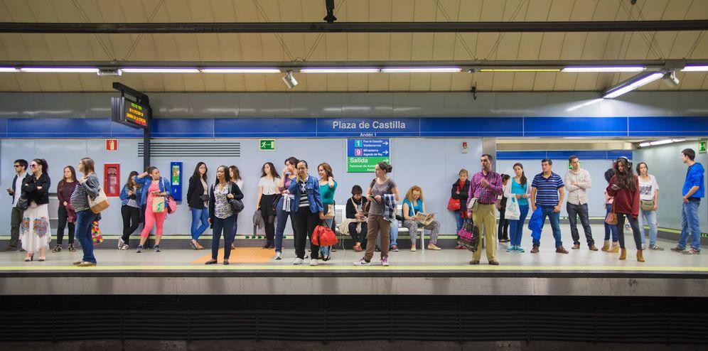 Foto: Los vigilantes de seguridad del metro están hartos de no cobrar su nómina a tiempo. (Reuters)