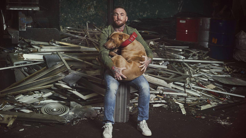 Javier García Roche, protagonista de 'A cara de perro'. (Mediaset)