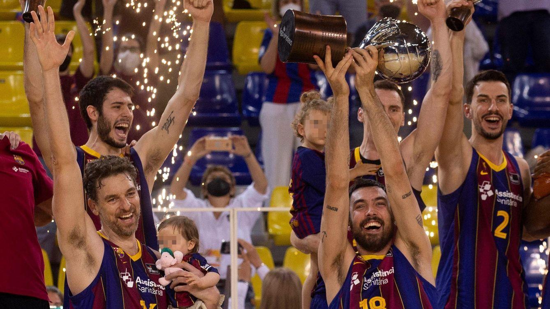 El Barça de Gasol gana la ACB siete años después tras exhibirse ante el Madrid (92-73)