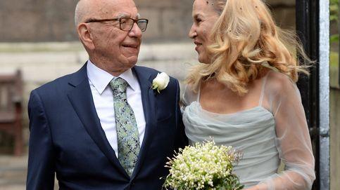 Así fue la boda religiosa de Rupert Murdoch y Jerry Hall