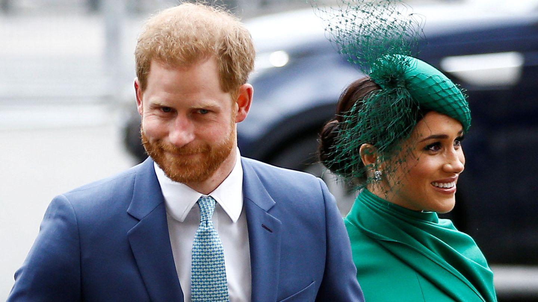 Meghan Markle y el príncipe Harry, en una imagen de archivo. (Reuters)
