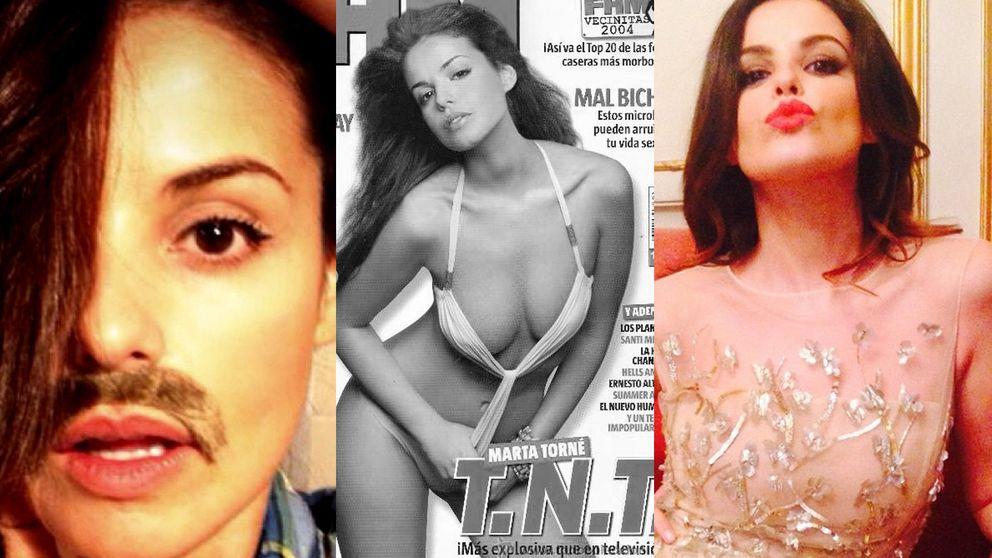 Las mil caras de Marta Torné, una experta en cambios de look