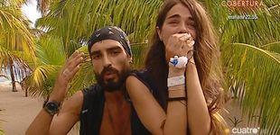 Post de La reacción de Fabio a su despedida forzosa de Violeta en 'Supervivientes 2019'