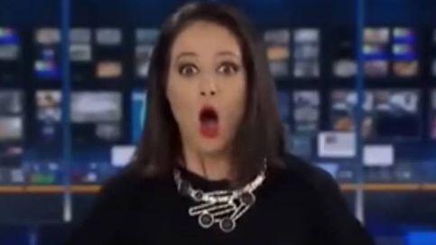Una presentadora australiana, 'pillada' por sus compañeros en pleno directo