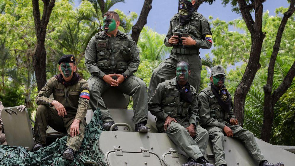 Foto: Varios integrantes de las Fuerzas Armadas venezolanas en una imagen de archivo. (Reuters)