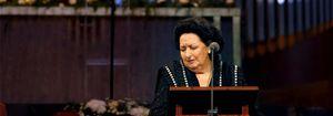 Montserrat Caballé, declarada persona non grata por Azerbaiyán