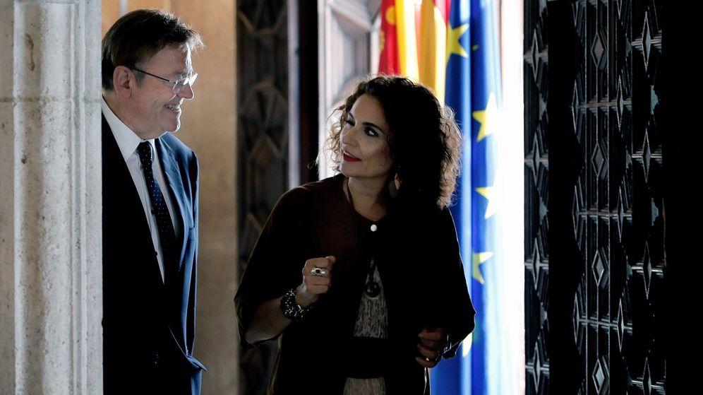 Foto: Ximo Puig y la ministra de Hacienda, María Jesús Montero. (EFE)