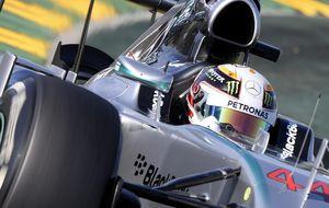 Hamilton, mentalizado: Sólo comer, dormir, respirar y correr hasta ganar el Mundial