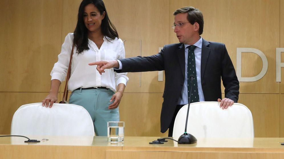 Foto: El alcalde de Madrid, José Luis Martínez-Almeida, y la vicealcaldesa, Begoña Villacís. (EFE)