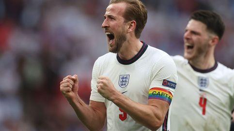 Inglaterra vence a sus fantasmas frente a Alemania y se clasifica a cuartos (2-0)