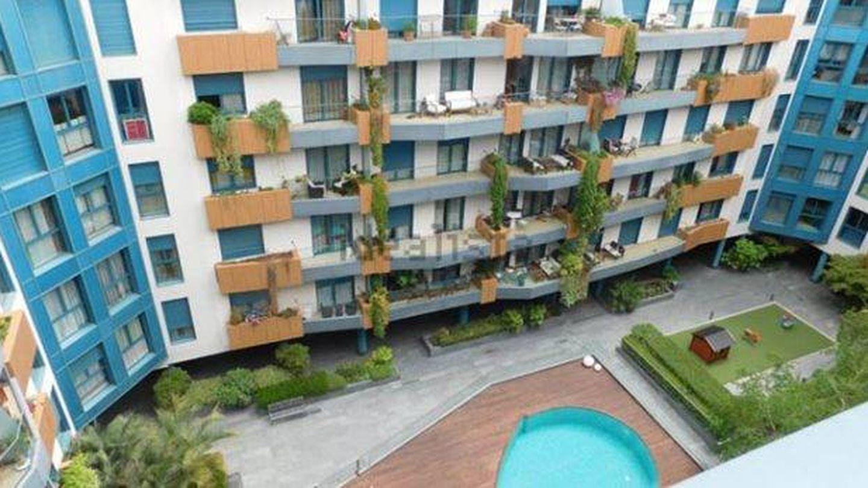 Imagen del bloque de apartamentos donde vive la pareja. (Idealista)