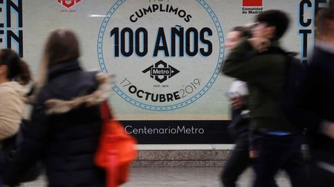 Metro de Madrid cumple 100 años con 'doodle' de Google, regalos... y huelga