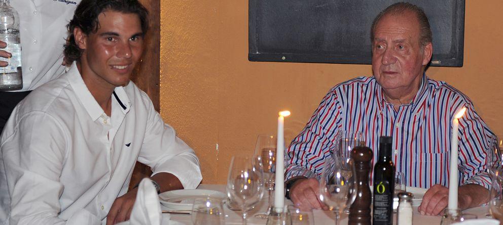 Foto: El monarca en un restaurante, en una imagen de archivo (Gtres)