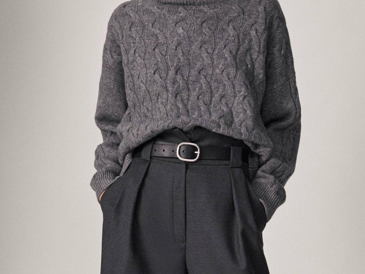 Foto: Pantalón de lana de Massimo Dutti. (Cortesía)