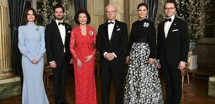 Post de Silvia de Suecia consigue eclipsar a Victoria y a Sofía en una cena de gala