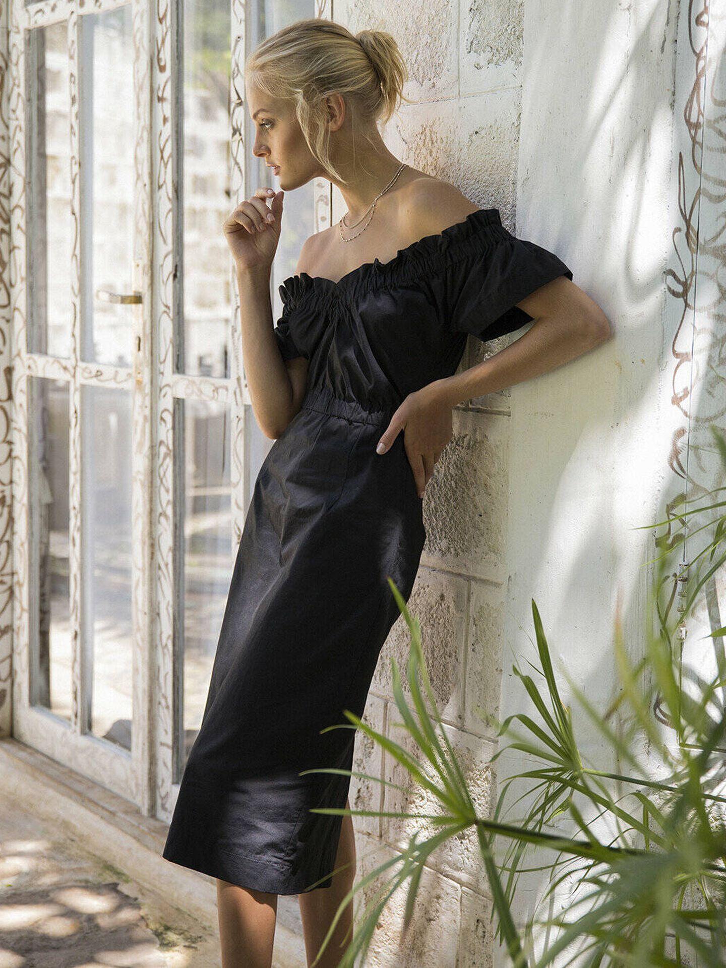 El vestido de María Malo.