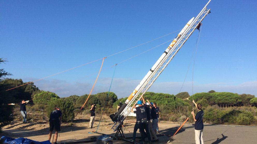 El 'Cabo Cañaveral' español está en Huelva y ha lanzado más de 500 cohetes