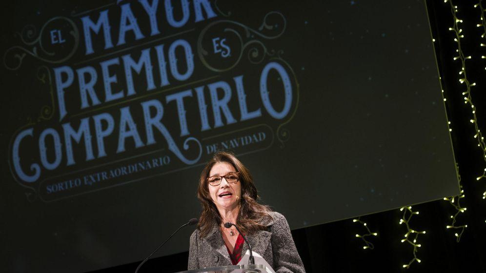 Foto: Presentación del Sorteo de la Lotería de Navidad 2014 en Madrid (EFE)