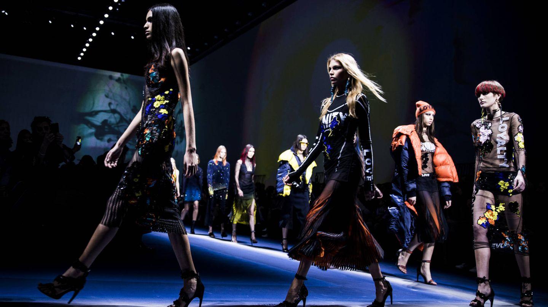 Desfile de Versace. (Getty)