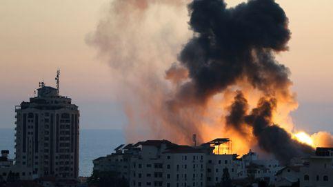 Diez bombas por minuto: así se vive desde Gaza la 'batalla personal' de Netanyahu