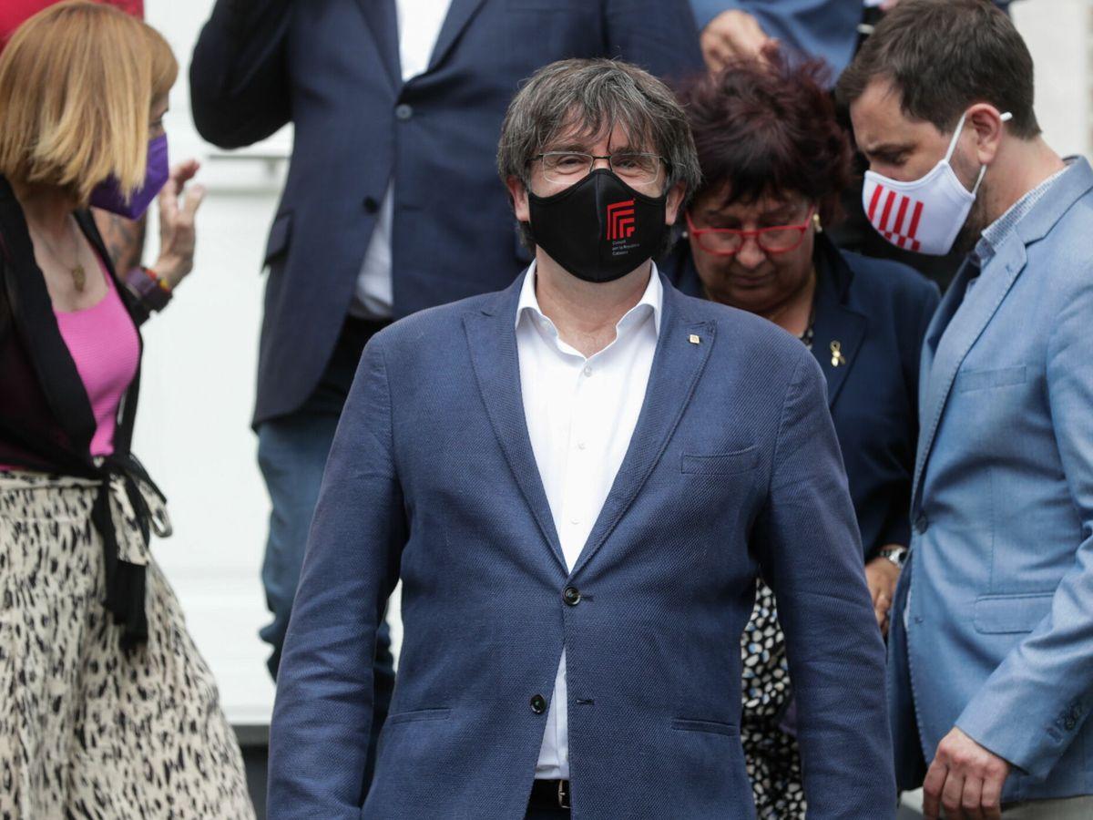 Foto: El expresident de la Generalitat Carles Puigdemont. (EFE)