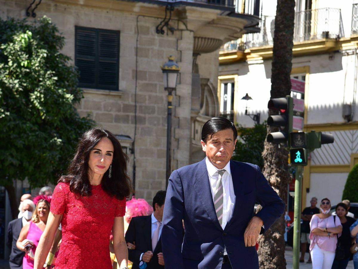 Foto: Amparo Corsini y Manuel Falcó, marqués de Castel-Moncayo. (Cordon Press)