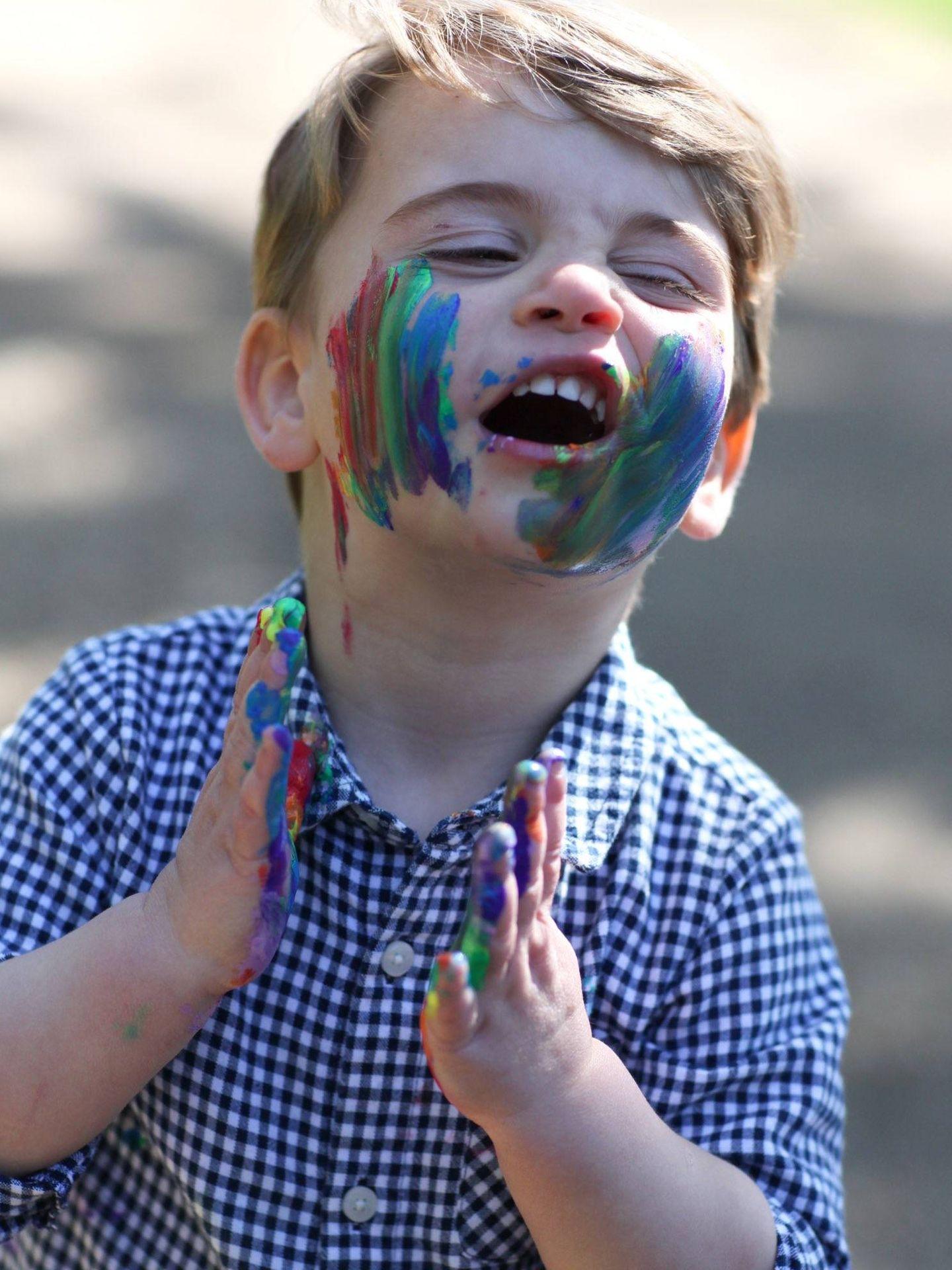 Louis de Cambridge, para su cumpleaños. (Kate Middleton / Kensington Palace)