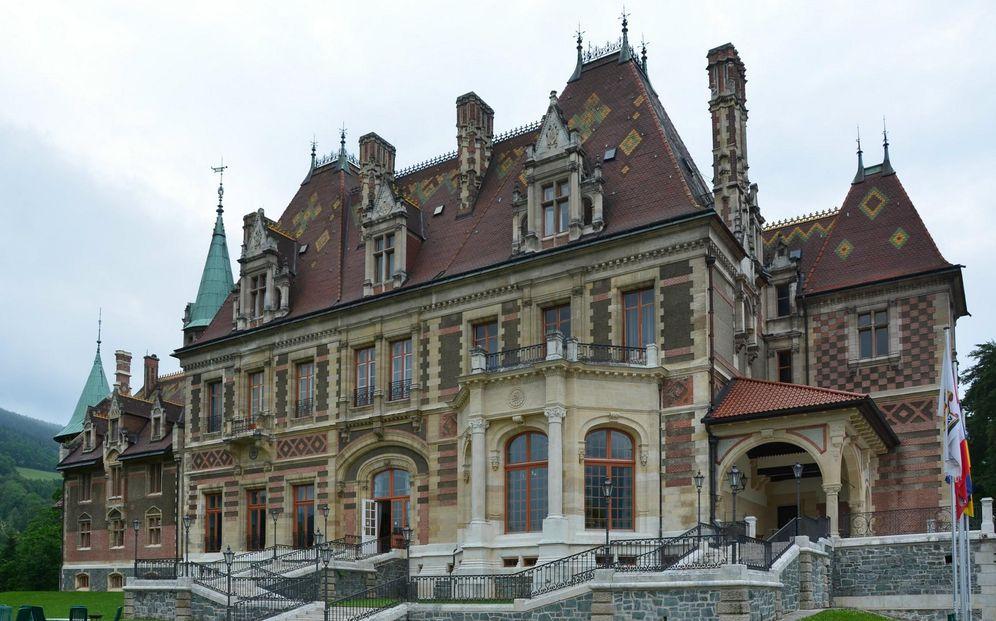 Foto: Schloss Hinterleiten, uno de los muchos palacios construidos por la familia Rothschild. (A. Wintschalek)