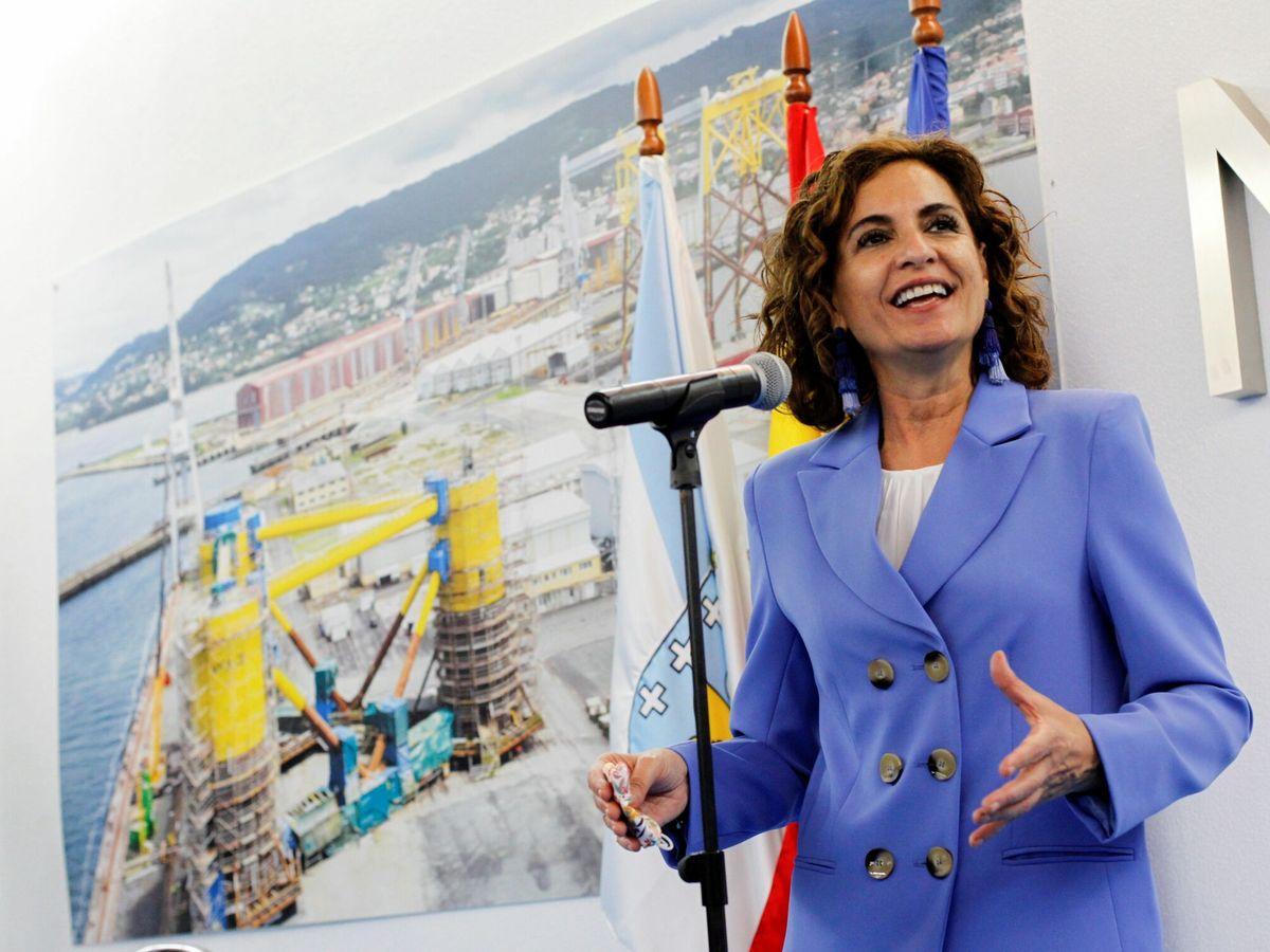 Foto: il ministro delle Finanze Maria Jesus Montero.  (EFE)