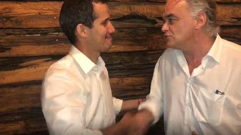 González Pons visita a Guaidó en la frontera con Colombia para mostrarle el apoyo del PP
