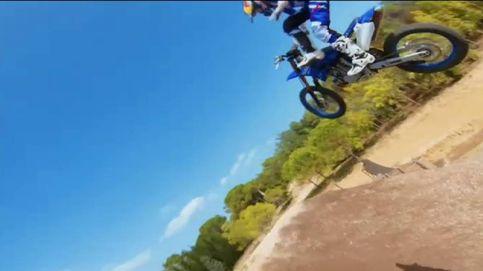 Las increíbles acrobacias del campeón de motocross Tom Pagès a vista de dron
