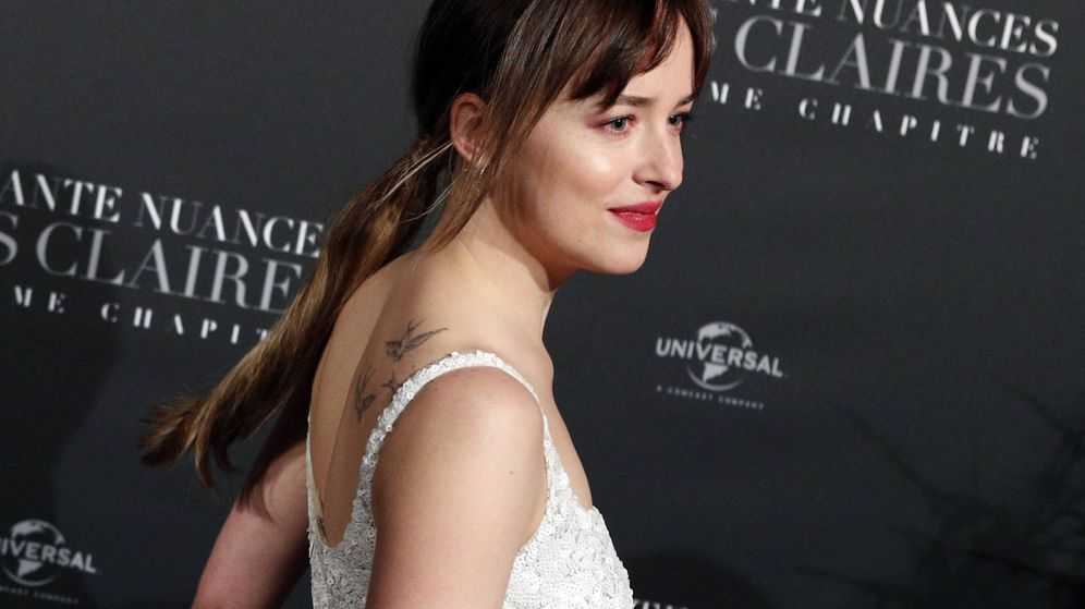 Foto:  Dakota Johnson, de estreno. (Gtres)